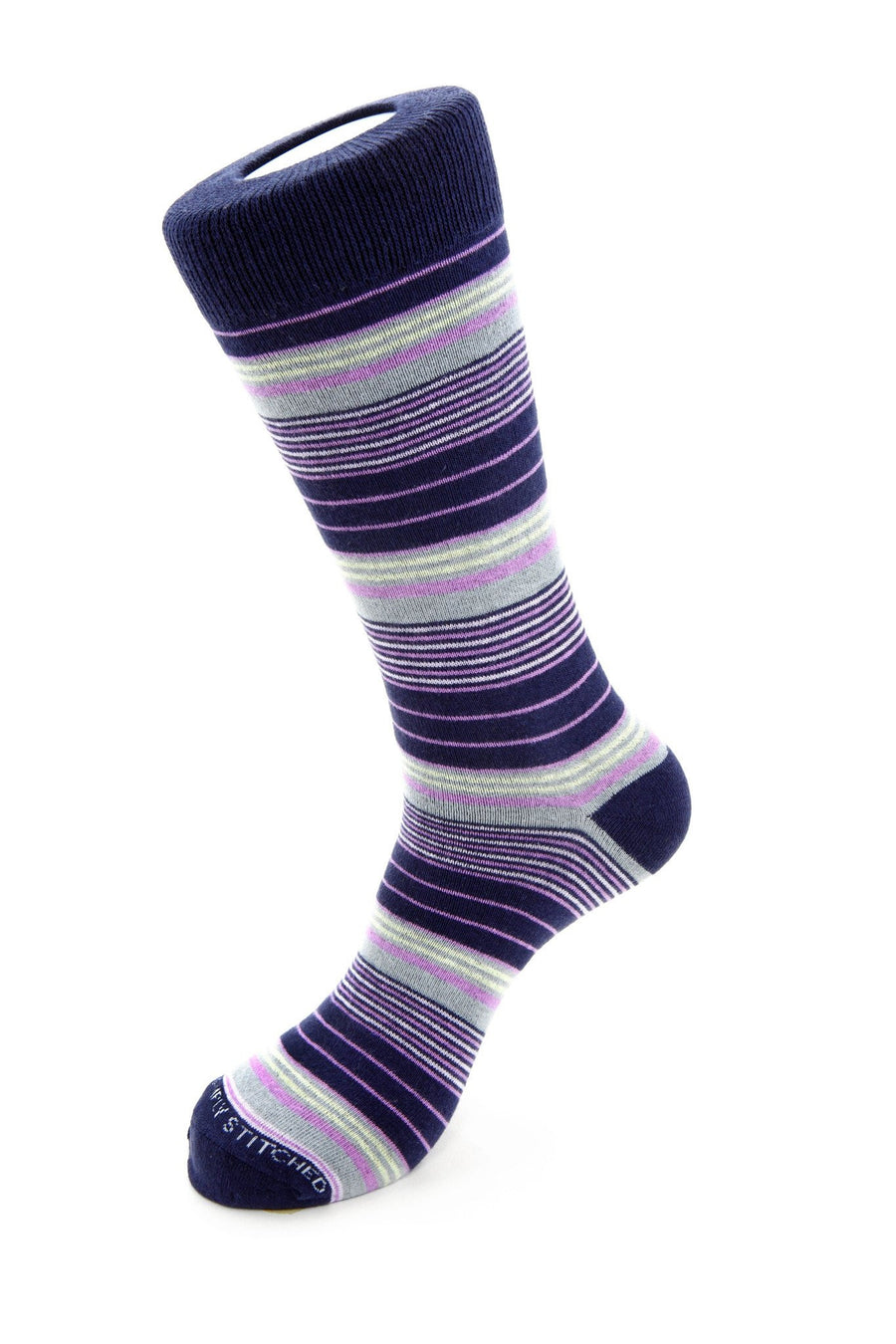 Variegated Stripe Sock