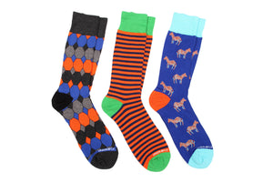 3 Pair Crew Sock Value Pack