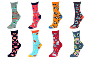 8 Pair Value Pack Women's Socks 1001