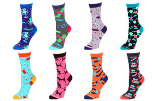 8 Pair Value Pack Women's Socks 1005
