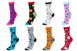 8 Pair Value Pack Women's Socks 1006