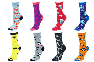 8 Pair Value Pack Women's Socks 1011