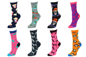 8 Pair Value Pack Women's Socks 1014