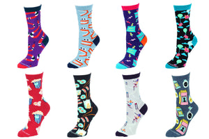 8 Pair Value Pack Women's Socks 1015