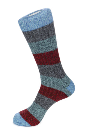 Boot Sock Melange Basic Stripe