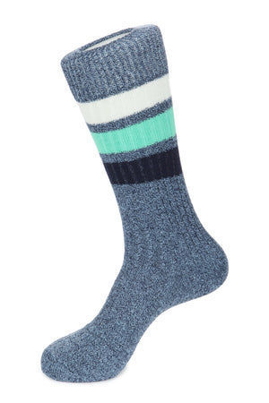 Boot Sock Melange Triple Stripe