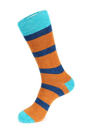 Thick Sailor Stripe Boot Sock