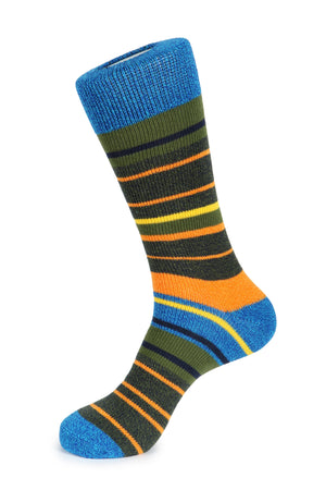 Hudson Stripe Boot Socks
