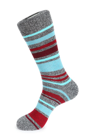 Penta Color Stripe Boot Sock