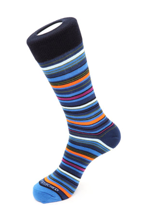 Railroad Stripe Sock