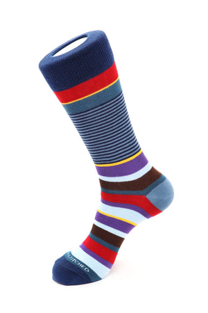 Ladder Stripe Sock