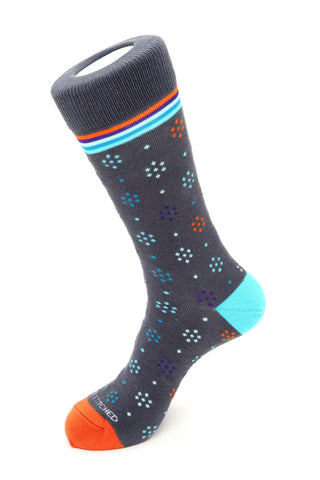 Simple Polka Dot-No Show Sock