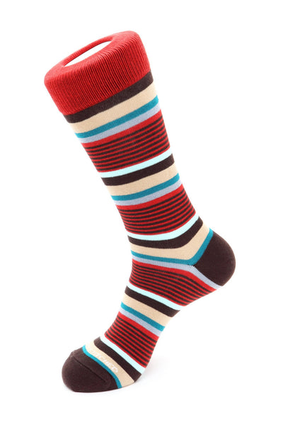 Mixed Stripe Sock