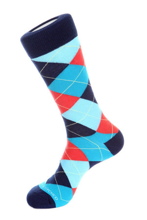Golf Caddy Argyle Sock