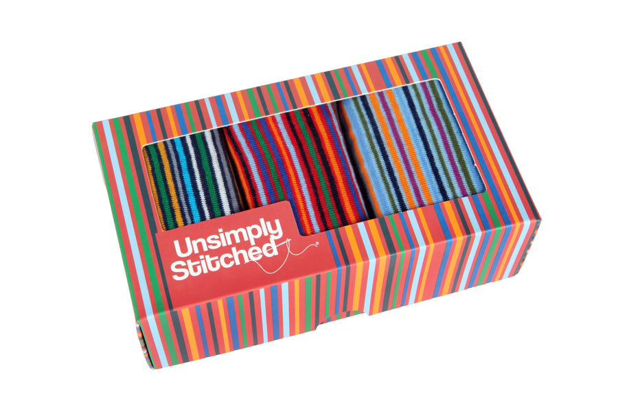 Limitless Stripe Gift Box