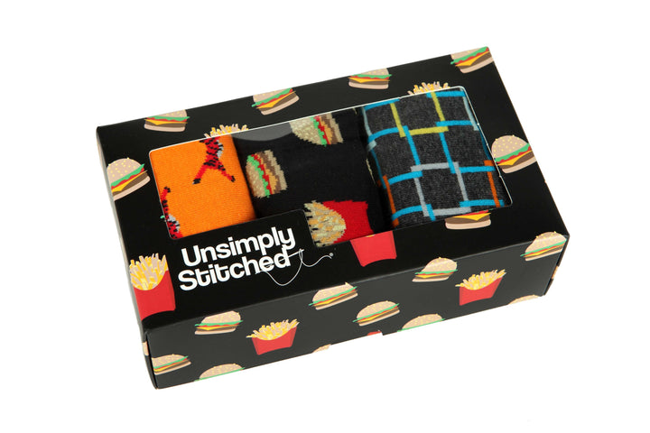 Cheeseburger and Fies Gift Box