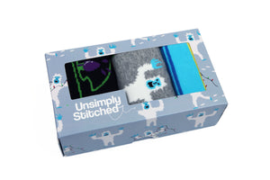Abominable Snow Man Gift Box