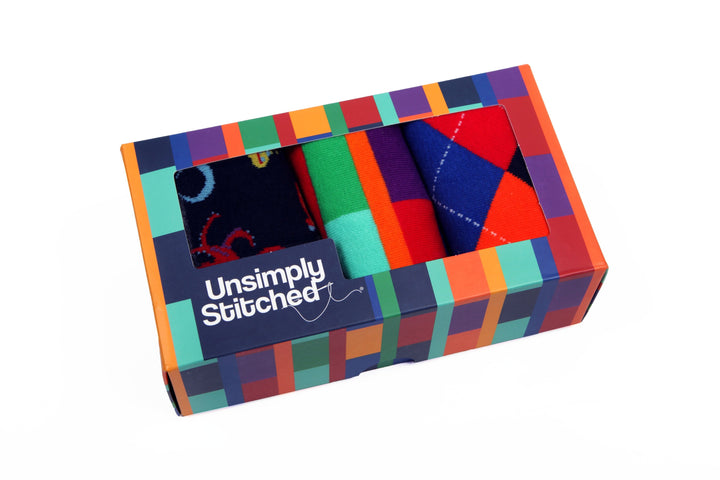 Block Stripe Gift Box