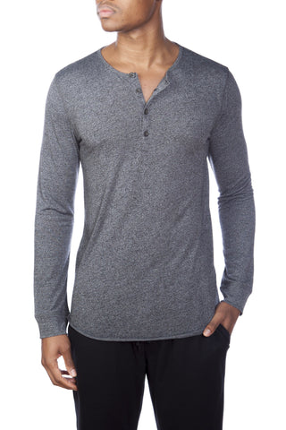 Light Weight Jersey Lounge Hoodie Henley