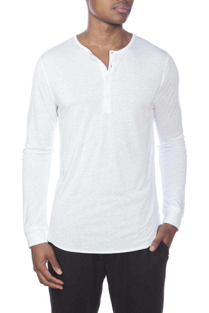 Super Soft Long Sleeve Lounge Henley