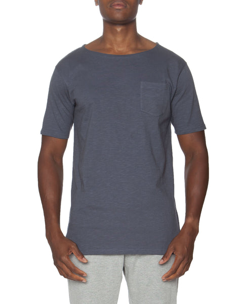 Short Sleeve Lounge Slub T