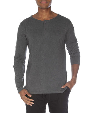 Light Weight 2 Button Henley