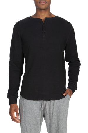 Long Sleeve Thermal Henley