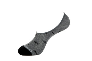 Shark Ditsy-No Show Sock
