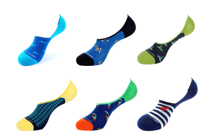 Value Pack 6019 No-Show Socks