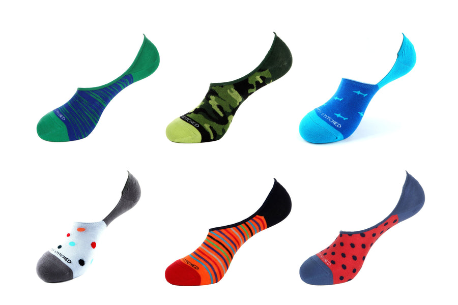 Value Pack 6021 No-Show Socks