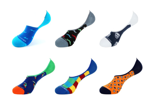 Value Pack 6024 No-Show Socks