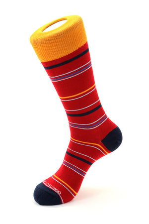 Wide Stripe Sock