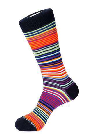 Slick Stripe Sock