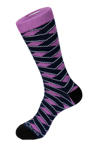 Colored Flamingo Sock