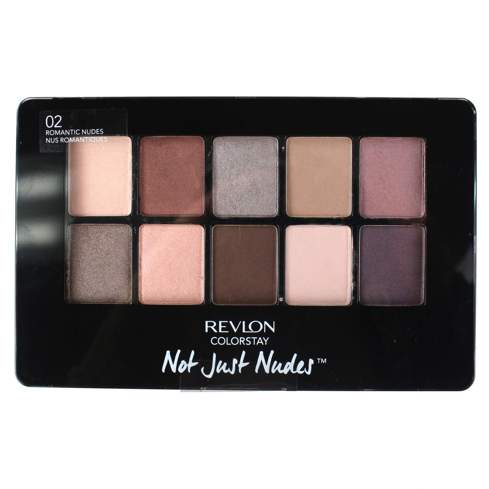 Revlon ColorStay Not Just Nudes Shadow Palette 14.2g - 02 Romantic Nudes