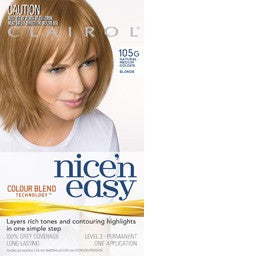 Clairol Nice N Easy Permanent Hair Colour 115A Lighter Golden Brown