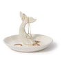 Porcelain Mermaid Tail Trinket Tray
