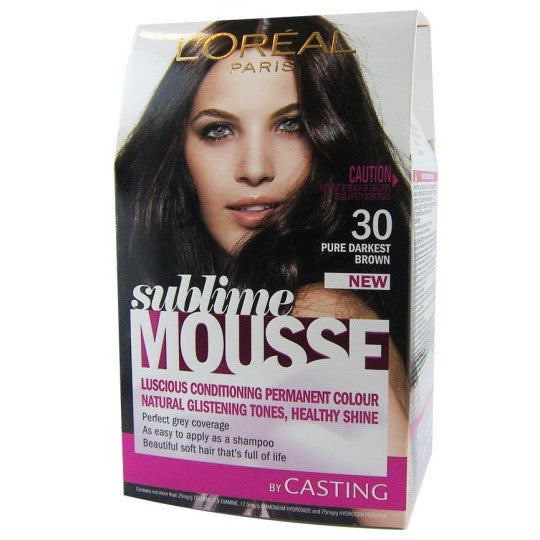 L'Oreal Sublime Mousse Hair Colour