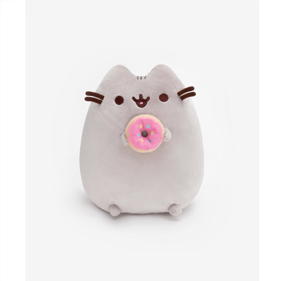 Pusheen the Cat with Donut Plush 24cm by Gund