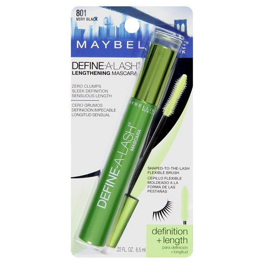 Maybelline Define A Lash Lengthening Mascara 801 Very Black
