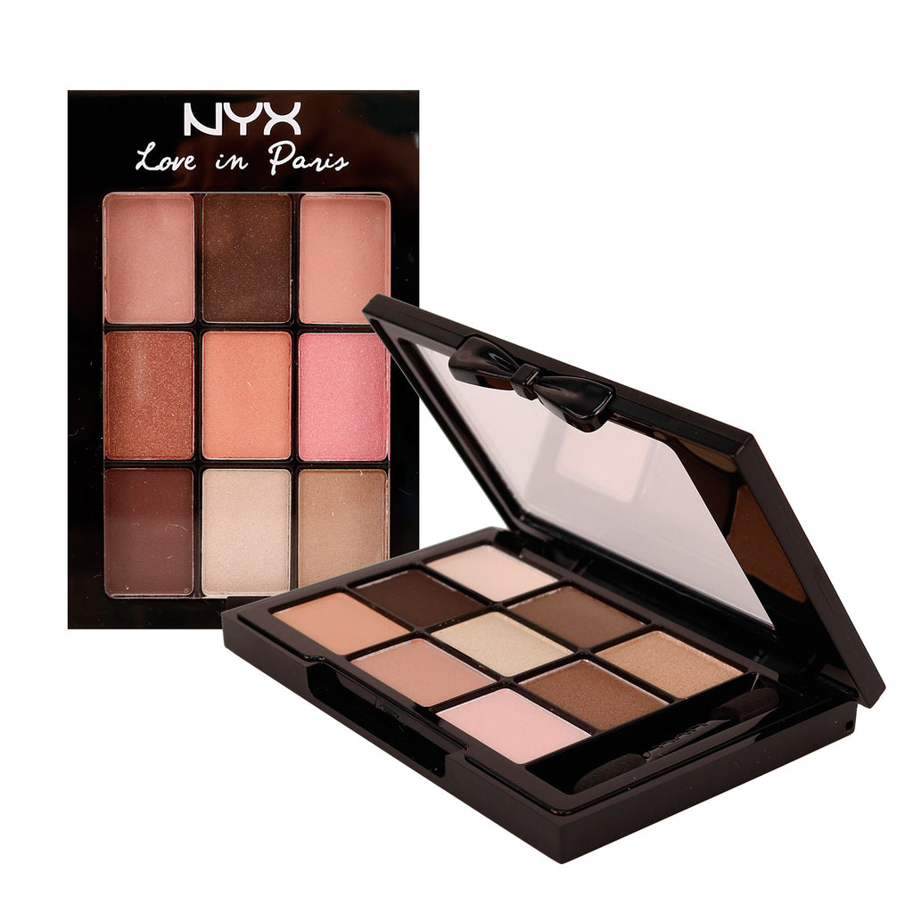 NYX Love in Paris 9 Colour Eye Shadow Palette