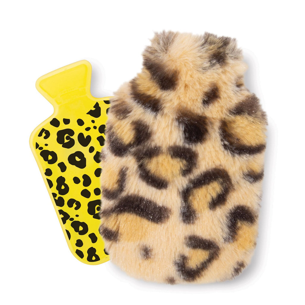 IS GIFT Pocket Hotty With Plush Cover - Animal Print