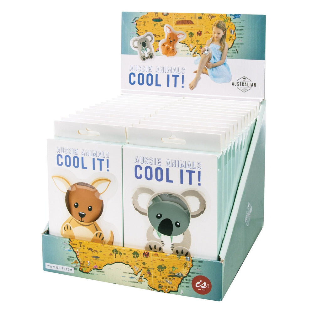 IS Gift The Australian Collection Kangaroo Koala Cool Its - Cold / Heat Pack