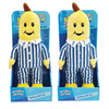 Set of 2 B1 & B2 Bananas in Pyjamas Classic Talking Plush 30cm