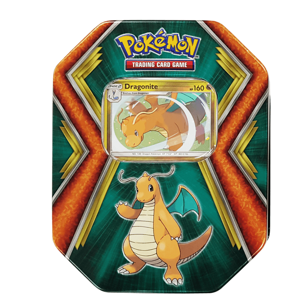 Pokemon TCG Back Issue Collector Tin - Dragonite & Salamence