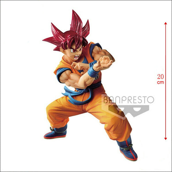Dragon Ball Super: Super Saiyan God Goku Special VI Blood of Saiyans Figure