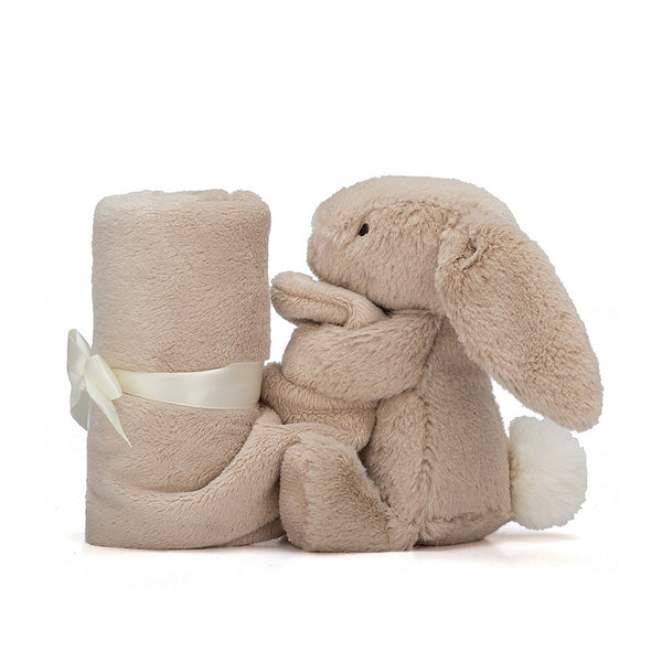 Jellycat Bashful Beige Bunny Soother Baby Blanket Comforter