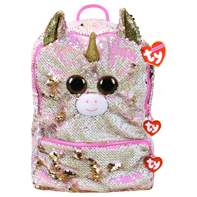 Ty Beanie Fashion - Fantasia the Unicorn Square Sequin Backpack