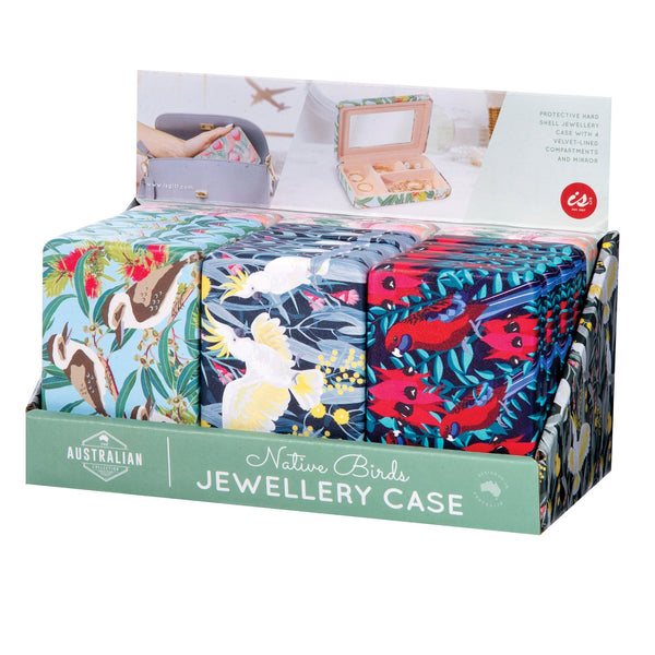 IS GIFT Australian Native Birds Jewellery Case