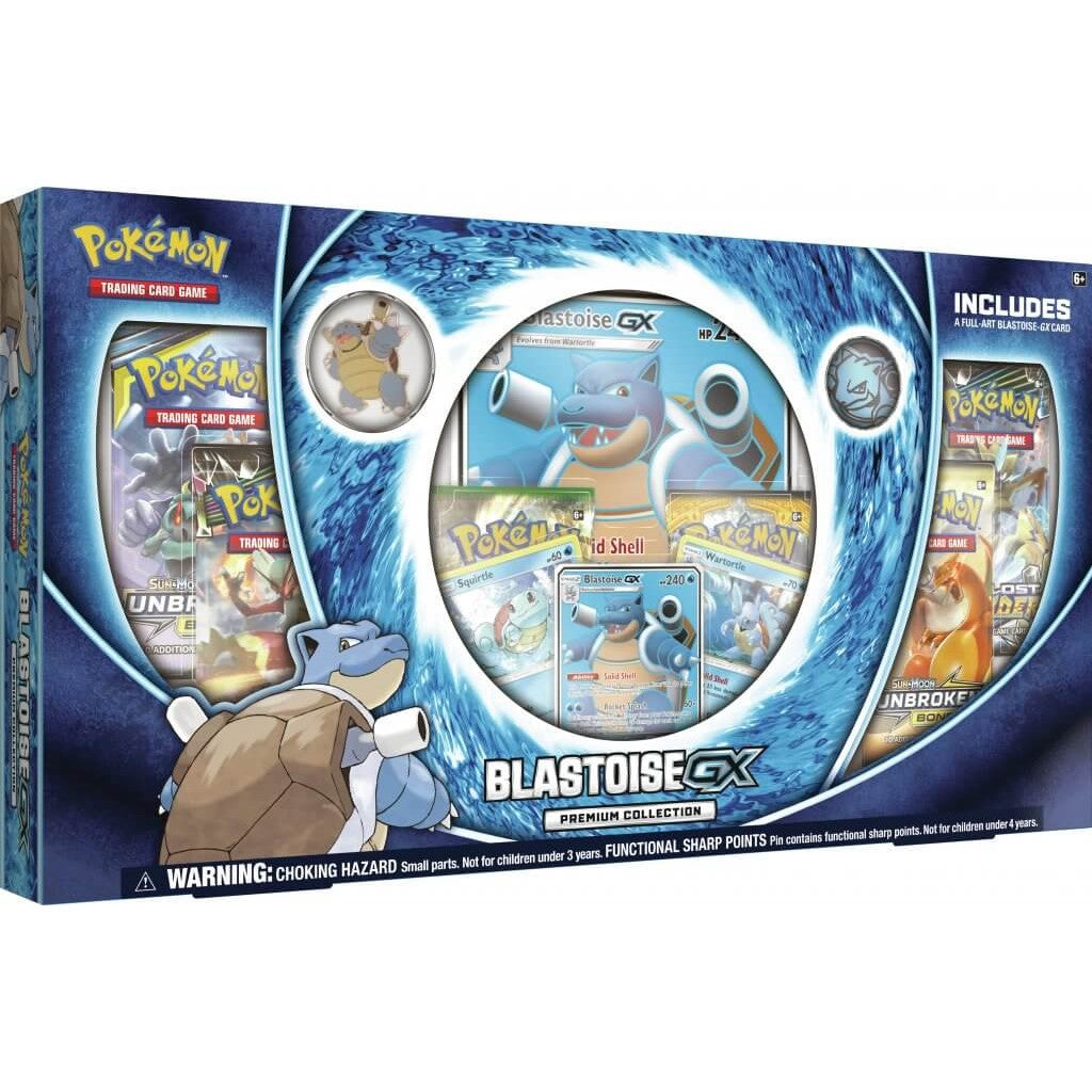 POKEMON TCG Blastoise-GX Premium Collection